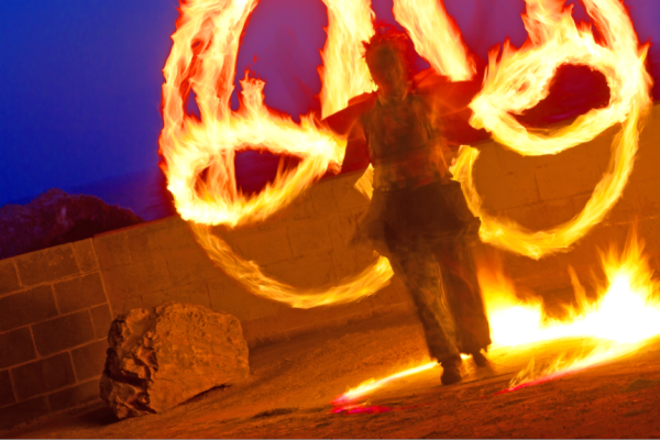 Fire Dancing Lessons: Sign up now!