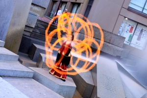 Beginner Poi Dance Class Fire Dancing San Francisco