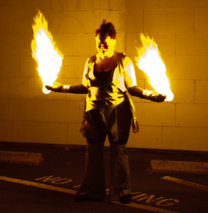 GlitterGirl Fire Dancing San Francisco Temple of Poi Lessons