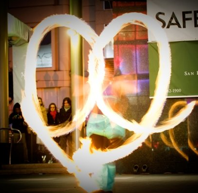 Beginner Fire Dancing Lessons San Francisco