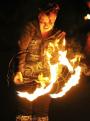 God & Fire Dancing Practice