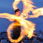Temple of Poi Founder GlitterGirl Fire Dancing