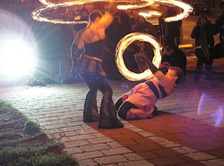 Fire Dancing Photo Shoot