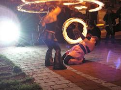 Fire Dancing Photo Shoot