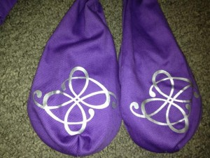 Practice Poi, Light Purple Cone Poi