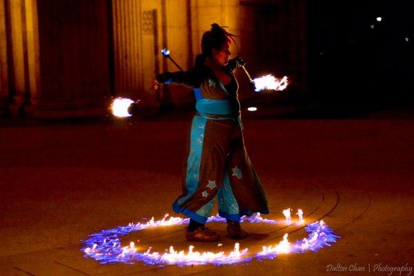 Beginner Fire Dancing Class