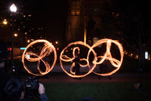 Intermediate/Advanced Poi Fire Dancing Class: Flowers