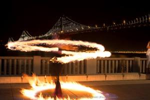 Beginner Poi Fire Dancing Class