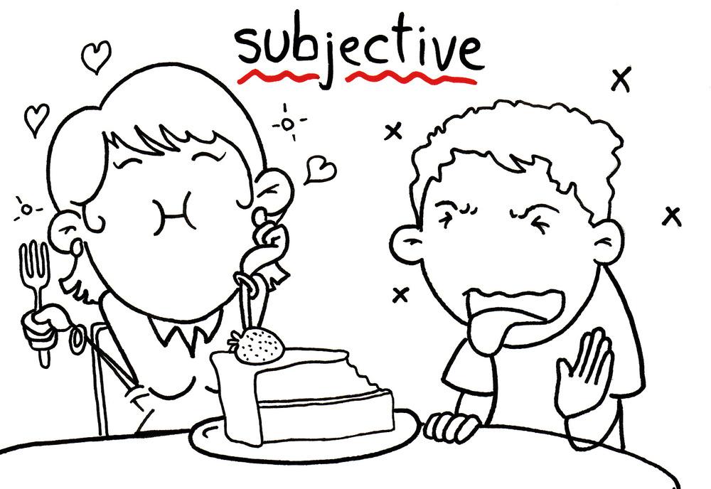 Relative & Subjective