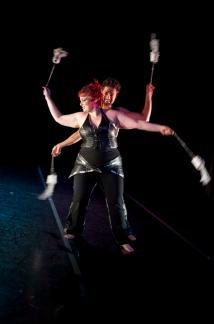 Photo: Sari Blum Artists: GlitterGirl & The Amazing Zihni
