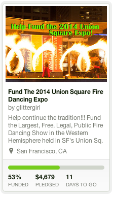 Fund the 2014 Fire Dancing Expo