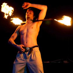2014 Fire Dancing Expo - Adonis Vai