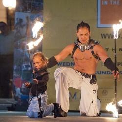 2014 Fire Dancing Expo - Celsius & Maxim