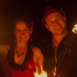 2014 Fire Dancing Expo - Jaden Rose & FamWOW