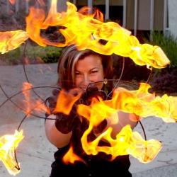 2014 Fire Dancing Expo - LadyVex
