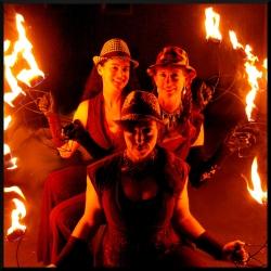 2014 Fire Dancing Expo - Thrift Shop Girlz