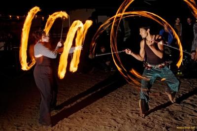GlitterGirl & Srikanta Barefoot, FireDrums 05