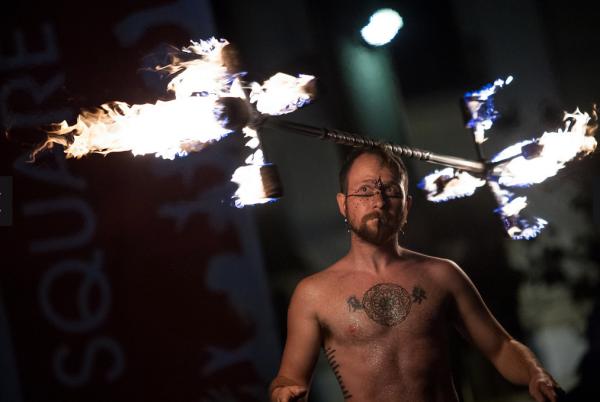 2014 Fire Dancing Expo: Mochiitoki