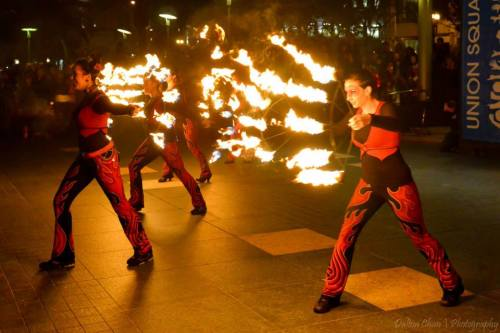 2014 Union Square Fire Dancing Expo: Sacred Flame