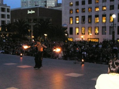 2010 Fire Dancing Expo - Celsius Maximus