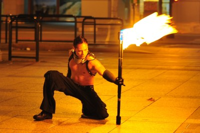2010 Fire Dancing Expo Photo Shoot