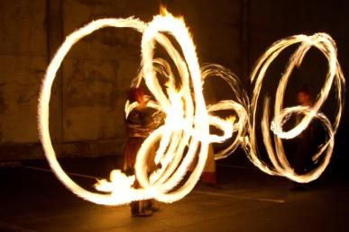 Beginner Poi Fire Dancing