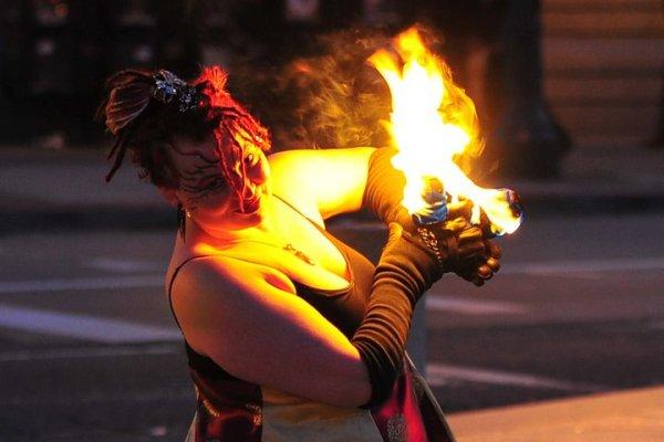 Fire Dancing Lessons: Beginner Poi