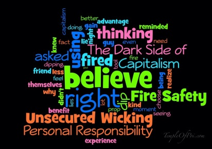 personal responsibility and fire safety