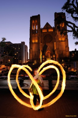 Fire Dancing Photography