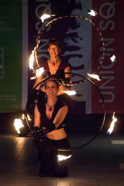 Fire Dancing Expo: DanaBlaze & Glitch