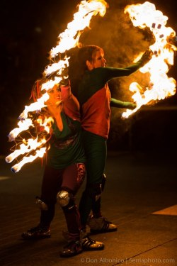 Fire Dancing Expo: Floasis Fire Crew