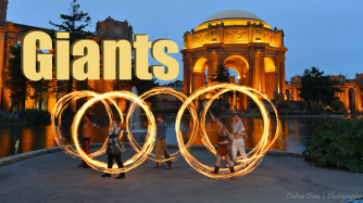 Poi Lessons: Flowers Giants