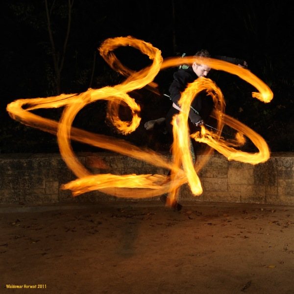 Funky Foot Flow Poi Combo Class
