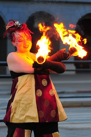 Fire Dancing Look