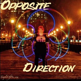 Poi Opposite Direction GlitterGirl