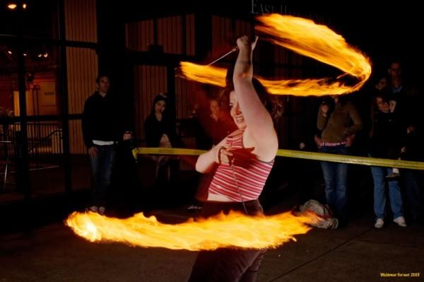 Beginner Poi fire dancing classes