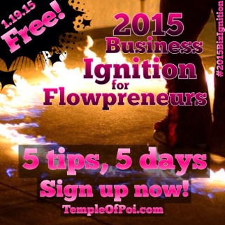 Free Course: 2015 Business Ignition for Flowpreneurs