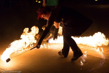 Dangers of Fire Dancing