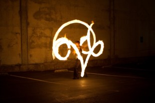 Beginner Fire Dancing