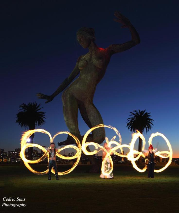 Beginner Poi Fire Dancing Classes