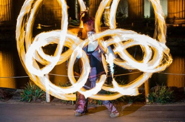 Poi Fire Dancing Lessons