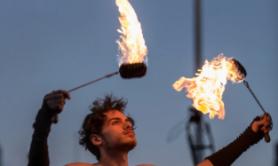 fire dancing lessons Beginner poi classes