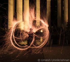 Artist: GlitterGirl Photo: Umesh Unnikrishnan