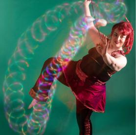 Artist: GlitterGirl Photo: Aaron Sesker