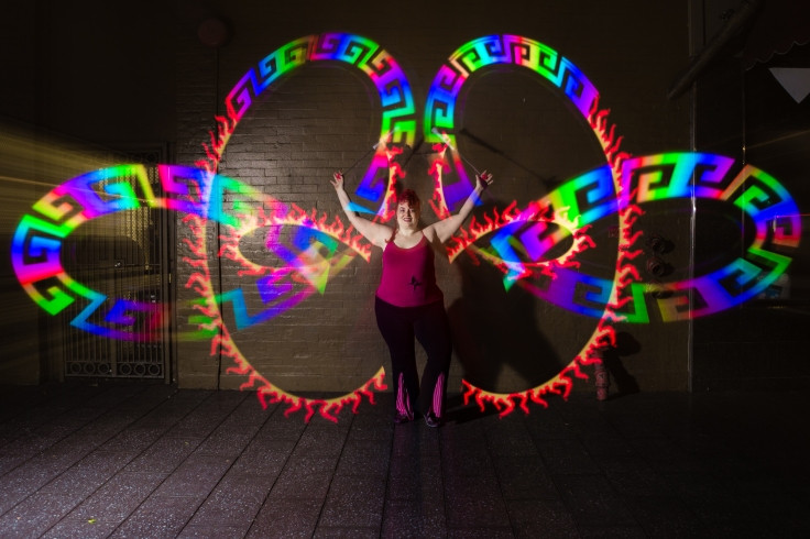 Fire Dancing Lessons Pixel Poi Preview